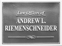 The Law Offices of Andrew L. Riemenschneider